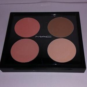 MAC blush and shaping powder